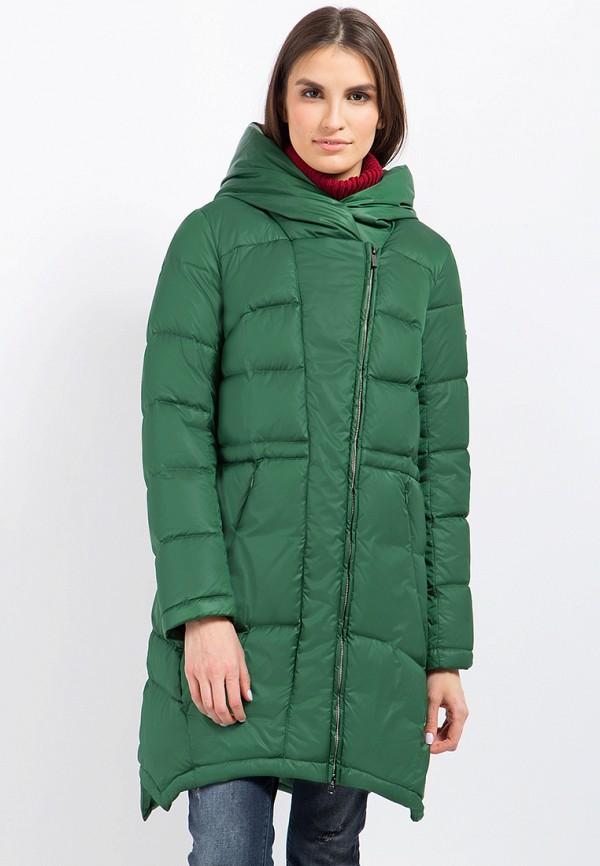 Пуховик Finn Flare цвет зеленый