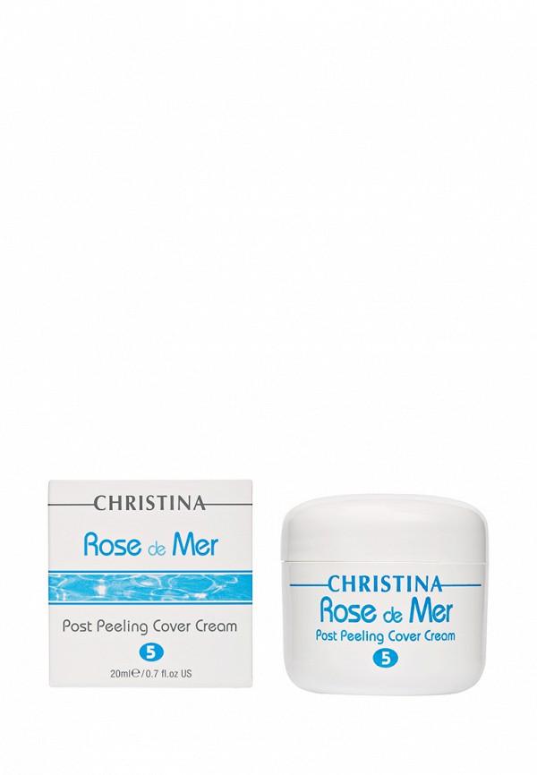 Постпилинговый тональный защитный крем Роз де Мер Christina Rose de Mer - 100% натуральный растительный пилинг для лица 20 мл