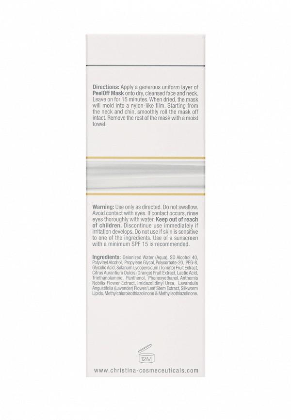 Пленочная лифтинг-маска для кожи лица и шеи Christina Silk - Эффект немедленного лифтинга
