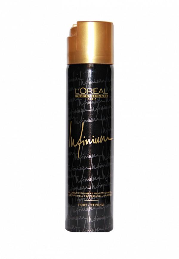 Лак сильной фиксации LOreal Professional Infinium Crystal - Профессиональные лаки для волос