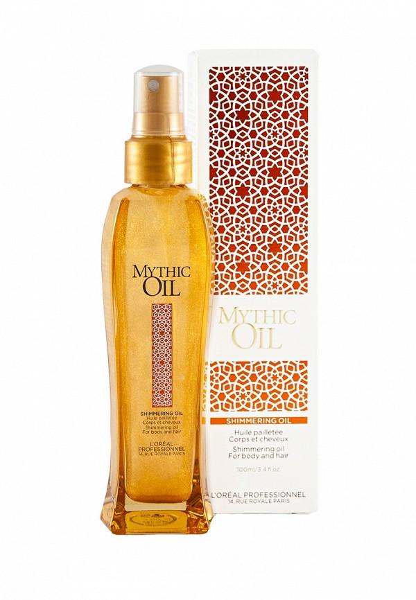 Мерцающее масло для волос и тела LOreal Professional Mythic Oil - Для защиты, блеска и питания волос
