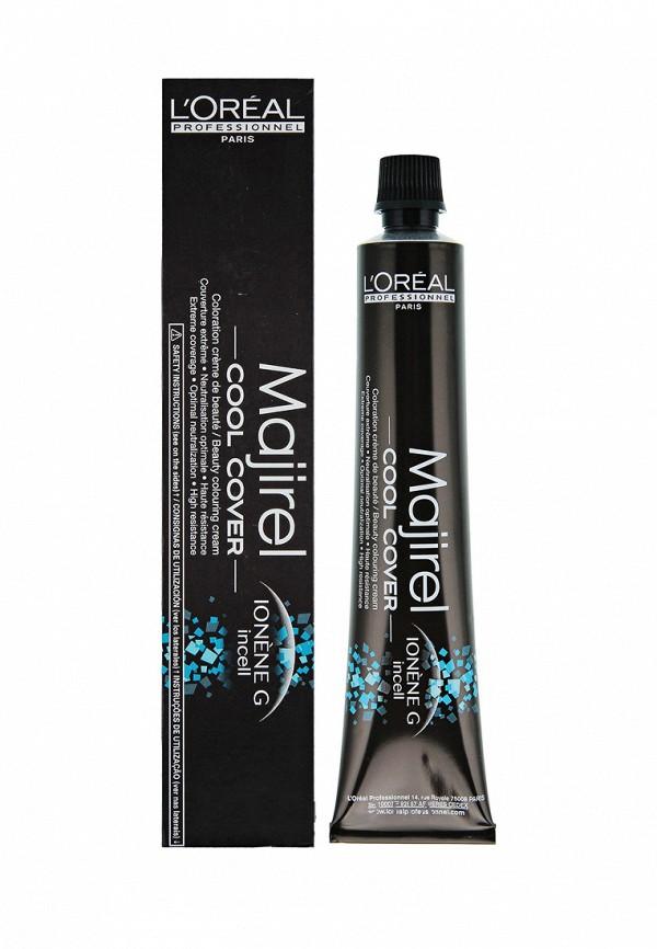 Стойкая крем-краска для волос 4.8 LOreal Professional Majirel Cool Cover - Краска для идеального стойкого покрытия седины
