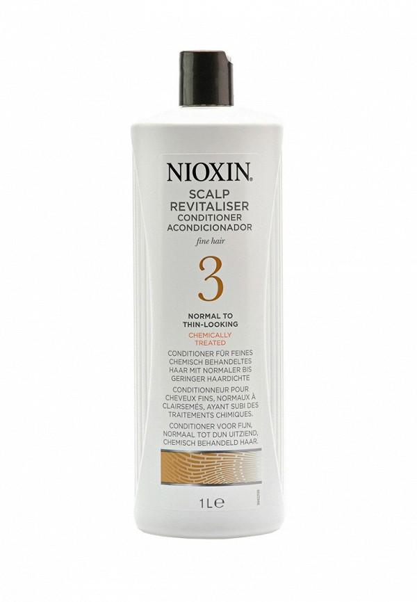 Увлажняющий кондиционер Система 3 Nioxin для тонких химически обработанных волос склонных к выпадению 1000 мл