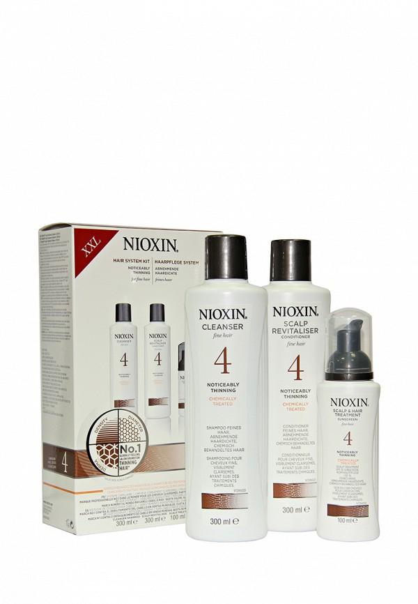 Набор Система 4 Nioxin для редеющих тонких химически обработанных волос 700 мл