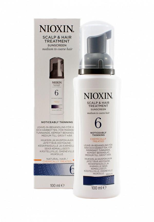 Питательная маска Система 6 Nioxin для редеющих жестких, химически обработанных или натуральных волос 100 мл