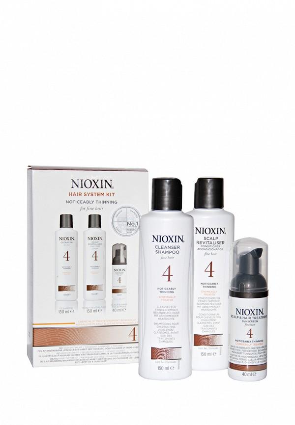 Набор Система 4 Nioxin для редеющих тонких химически обработанных волос 340 мл