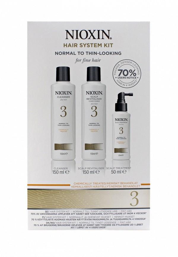 Набор Система 3 Nioxin для тонких химически обработанных волос склонных к выпадению 350 мл