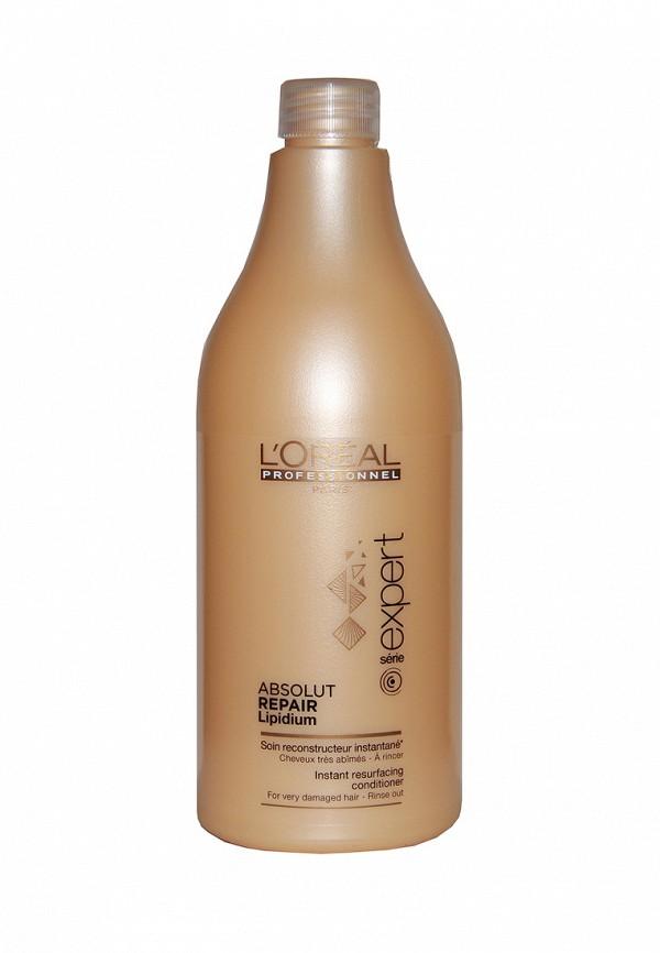 Смываемый уход восстанавливающий структуру волос LOreal Professional Expert Absolut Repair Lipidium - восстановление очень поврежденных волос 750 мл