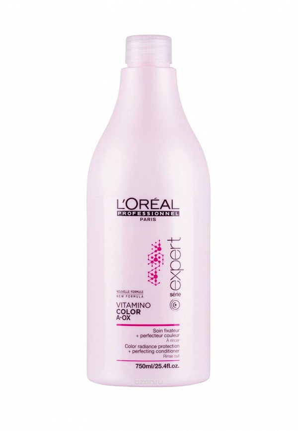 Смываемый уход-фиксатор цвета LOreal Professional Expert Vitamino Color - Для окрашенных волос 750 мл