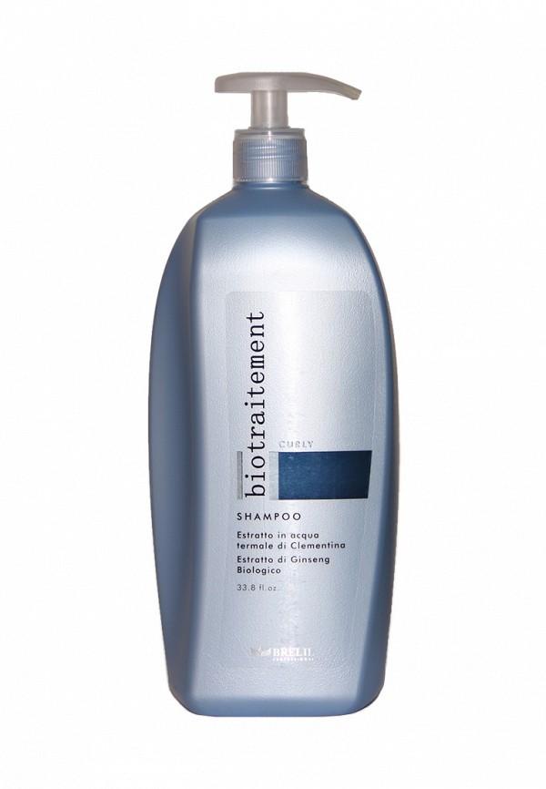 Шампунь для вьющихся волос Brelil Professional Curly - Для вьющихся волос или волос после перманентной обработки 1000 мл