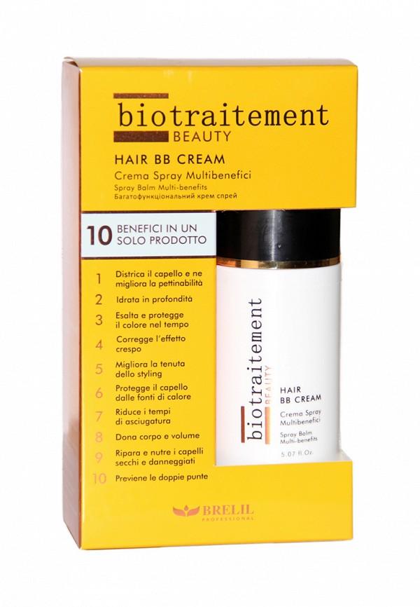 BB-крем для волос многофункциональный Brelil Professional Cristalli di Argan