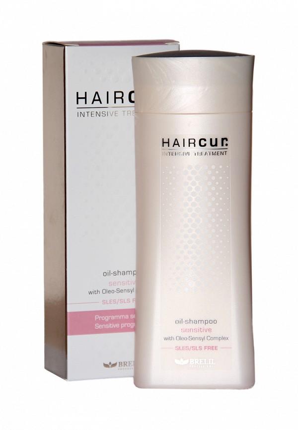 Шампунь-масло успокаивающий для чувствительной кожи Brelil Professional Hair Cur Intensive Treatment 200 мл