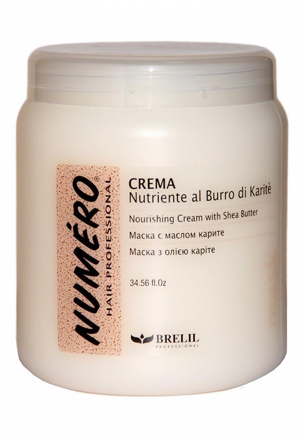 Маска для волос Brelil Professional Numero Shea Butter 1000 мл