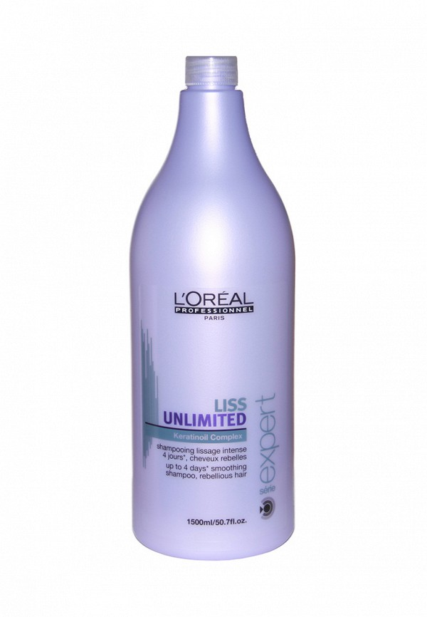 Шампунь для непослушных волос LOreal Professional Liss Unlimited 1500 мл