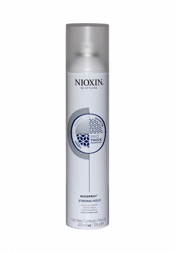 Лак спрей сильной фиксации Nioxin 3D Styling 400 мл