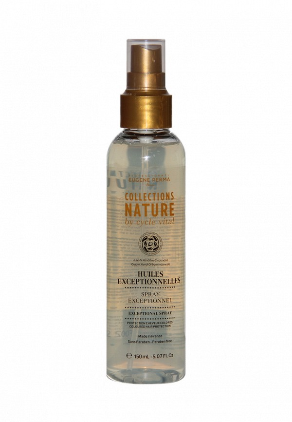 Спрей питательный для повреждённых волос Eugene perma Cycle Vital Nature 150 мл