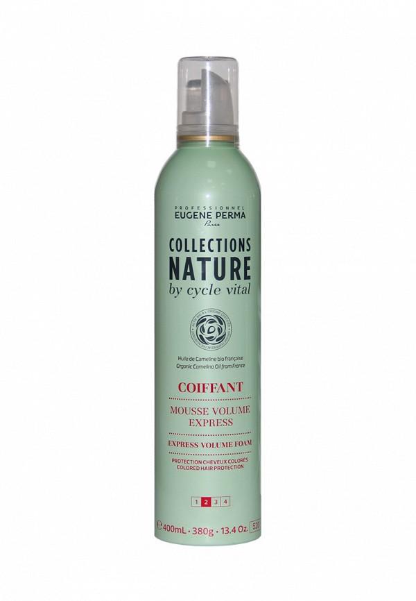 Мусс для мгновенного объёма волос Eugene perma Cycle Vital Nature 400 мл