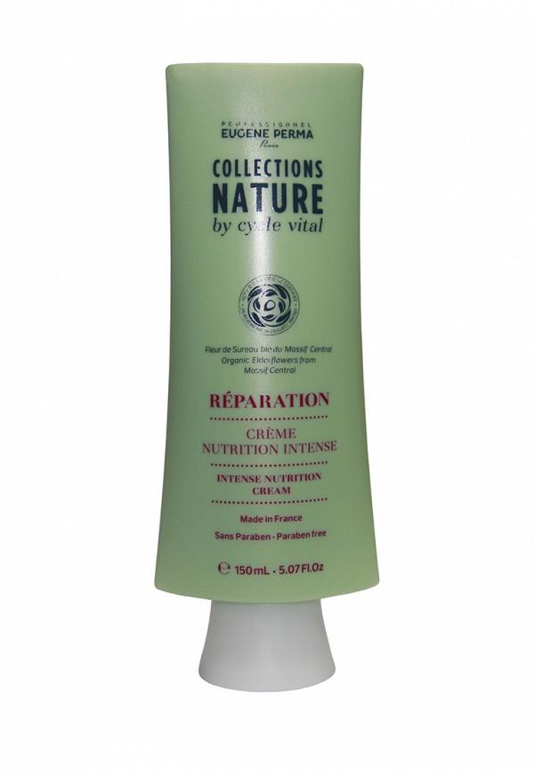 Маска-крем несмываемая интенсивно-питательная для повреждённых волос Eugene perma Cycle Vital Nature