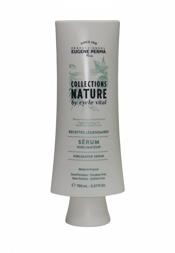 Сыворотка для блеска и упругости волос Eugene perma Cycle Vital Nature