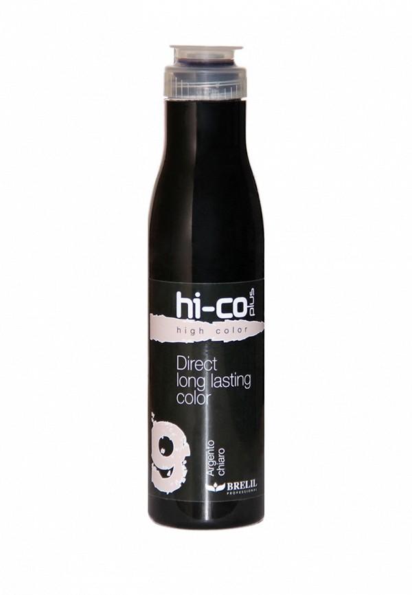 Шампунь оттеночный Brelil Professional HI-CO Plus 9 Серебристый светлый 200 мл