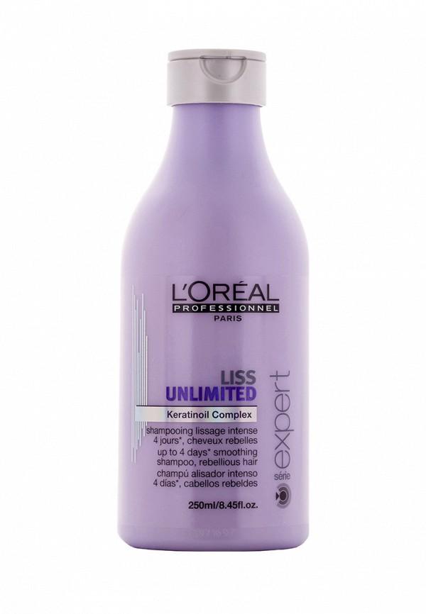 Шампунь для непослушных волос LOreal Professional Liss Unlimited - Для контроля и дисциплины непослушных волос 250 мл