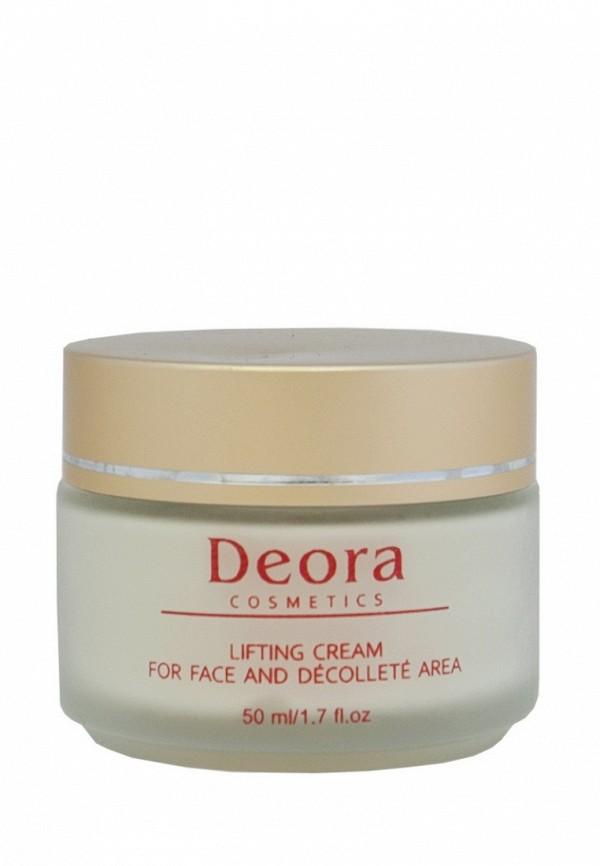 Крем лифтинг для лица и области декольте Deora Cosmetics