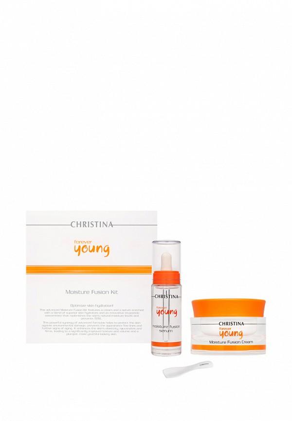 Набор для интенсивного увлажнения кожи Christina Forever Young - Омолаживающая линия 80 мл