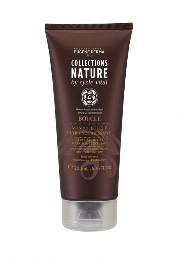 Маска ультрапитательная для вьющихся волос Eugene perma Cycle Vital Nature - Линия средств по уходу за сухими и поврежденными волосами 200 мл
