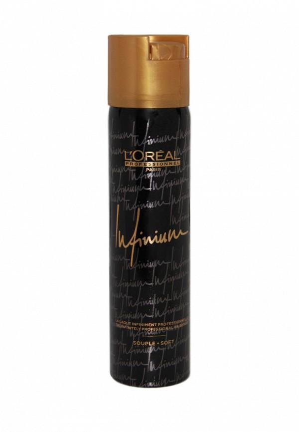Лак для волос средней фиксации LOreal Professional Infinium Crystal - Профессиональные лаки для волос 75 мл