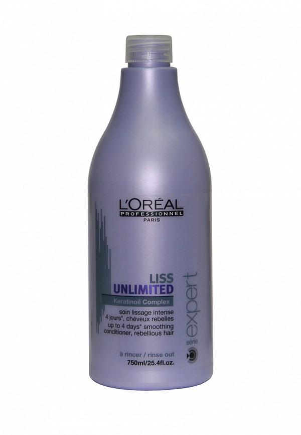 Кондиционер для непослушных волос LOreal Professional Liss Unlimited - Для контроля и дисциплины непослушных волос 750 мл