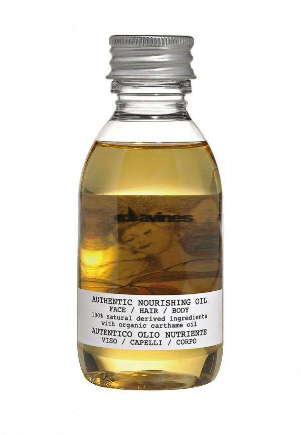 Питательное масло Davines Authentic Formulas - Органическая косметика для волос, лица и тела 140 мл