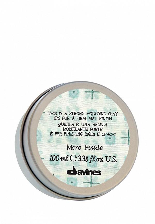 Моделирующая глина Davines More Inside - Авторские продукты для стайлинга 75 мл