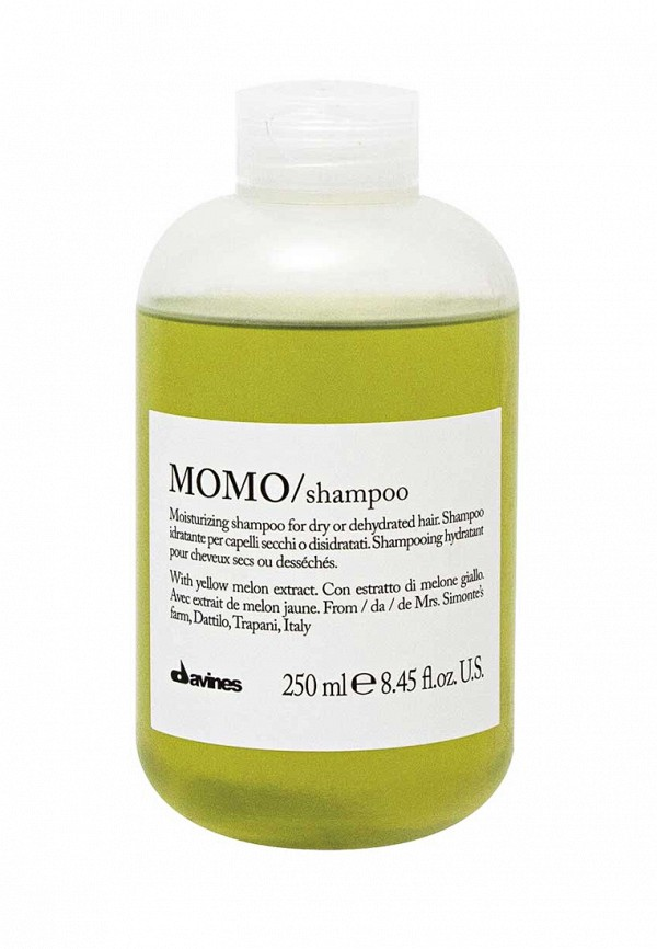 Шампунь для глубокого увлажнения волос Davines Essential Haircare NEW - Обновленная линия для ежедневного ухода за волосами 250 мл