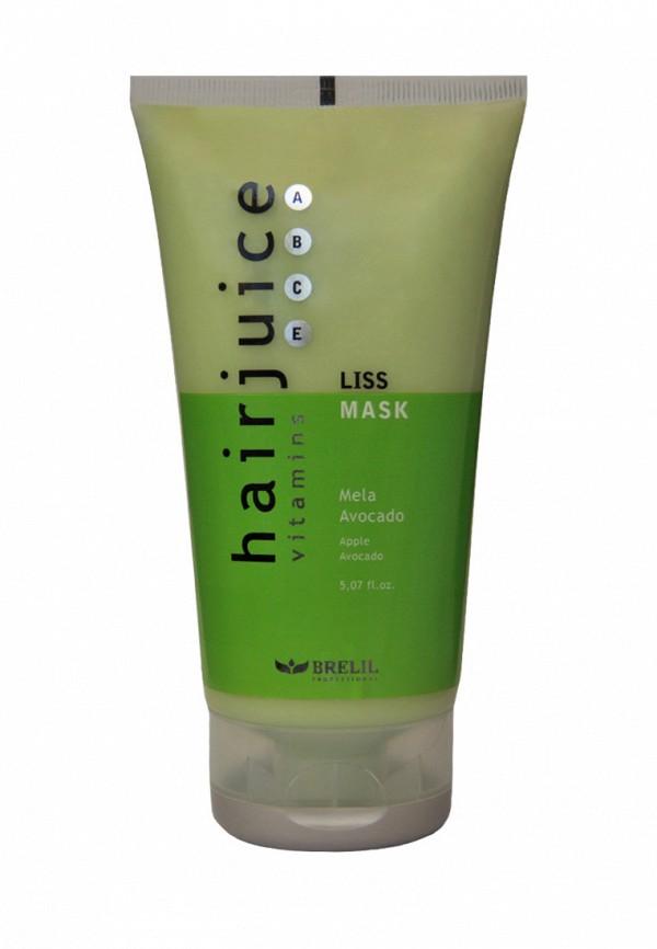 Маска для разглаживания волос Brelil Professional Яблоко и Авокадо для прямых волос 150 мл
