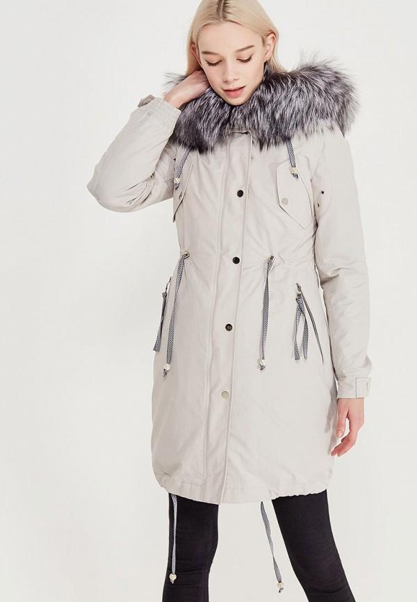 Куртка утепленная Grafinia цвет серый