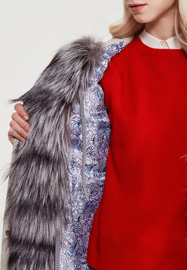 Куртка утепленная Grafinia цвет серый  Фото 4