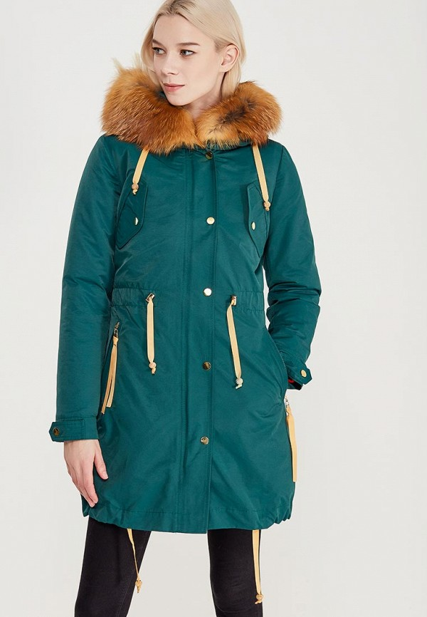 Куртка утепленная Grafinia цвет бирюзовый