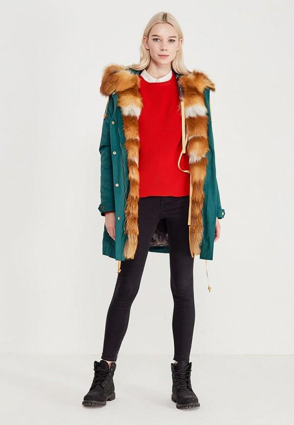 Куртка утепленная Grafinia цвет бирюзовый  Фото 2