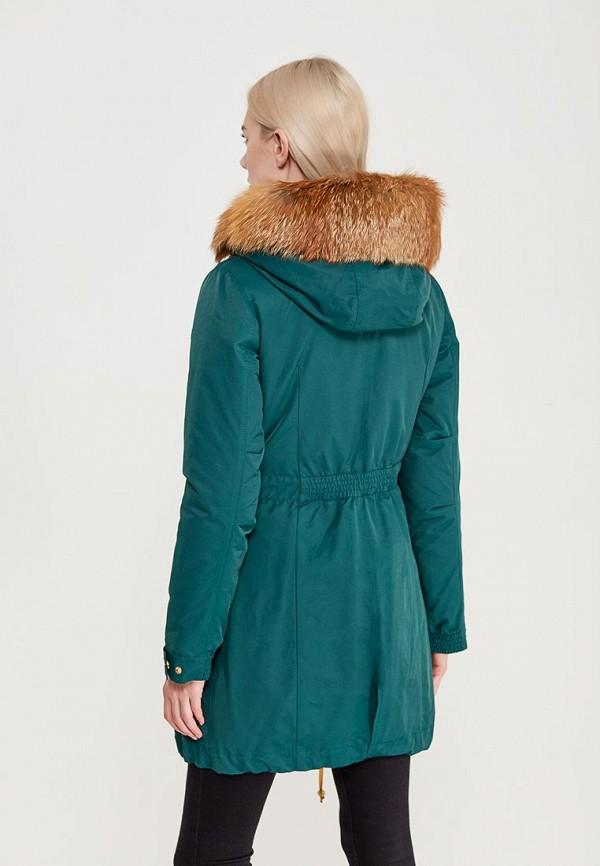 Куртка утепленная Grafinia цвет бирюзовый  Фото 3