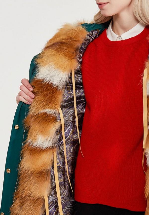 Куртка утепленная Grafinia цвет бирюзовый  Фото 4