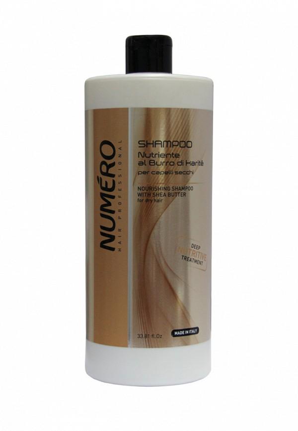 Шампунь с маслом карите Brelil Professional Numero Shea Butter - Линия для сухих волос с маслом карите