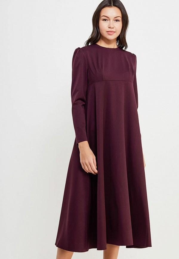 Платье Cauris цвет бордовый