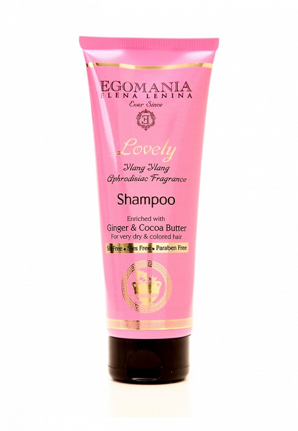 Шампунь для сухих волос Egomania Prof Lovely by Lena Lenina - Серебряная линия для нормальных и сухих волос