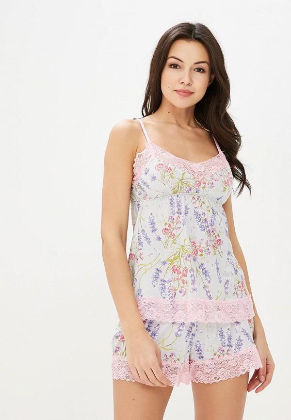 Пижама Deseo цвет серый