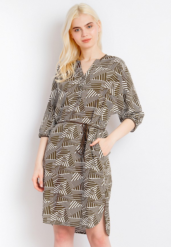 Платье Finn Flare цвет хаки