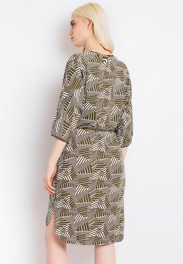 Платье Finn Flare цвет хаки  Фото 3
