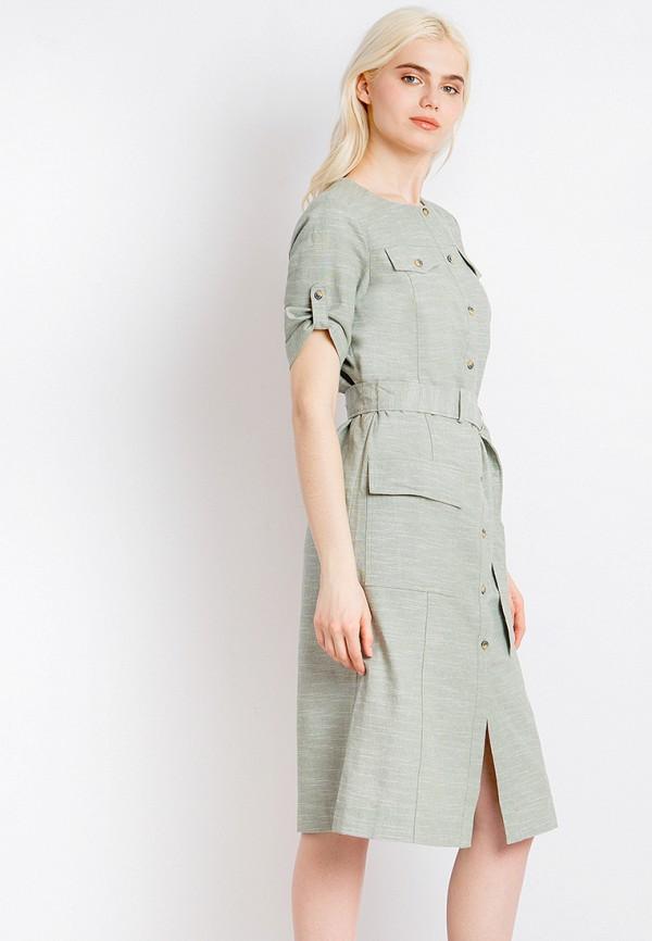 Платье Finn Flare цвет зеленый