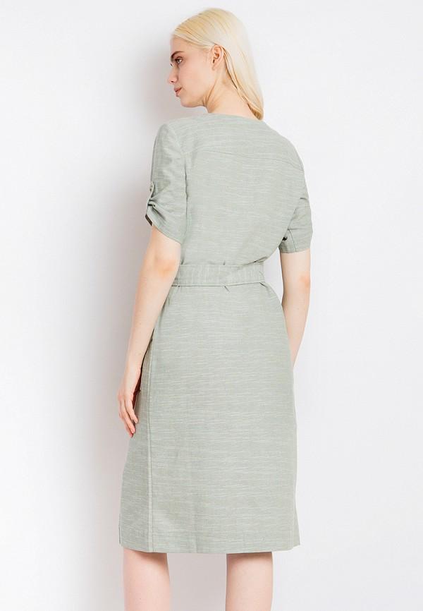 Платье Finn Flare цвет зеленый  Фото 3
