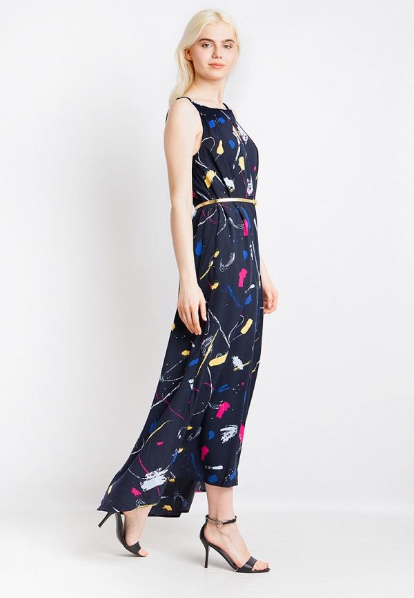 Платье Finn Flare цвет синий  Фото 2