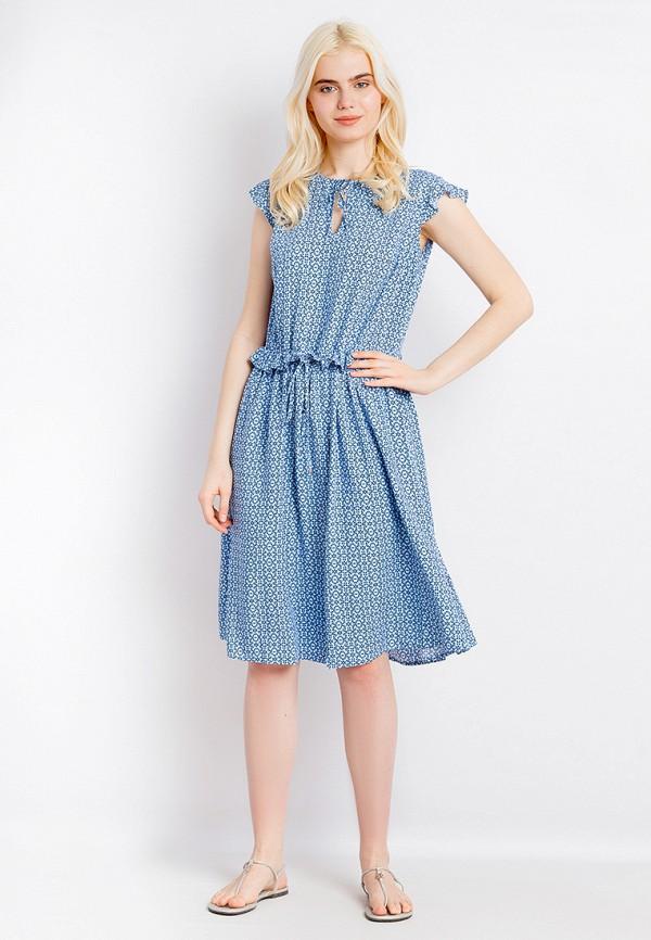 Платье Finn Flare цвет голубой  Фото 2